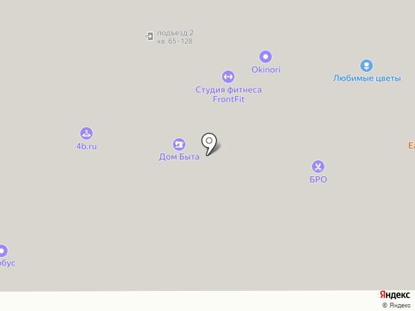 V-Project на карте Москвы