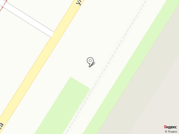Срубком на карте Тулы