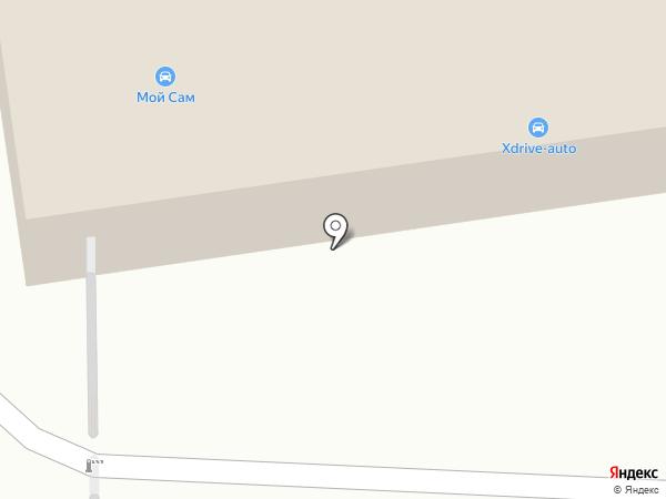 Мой Сам на карте Москвы