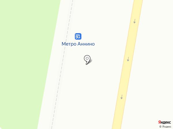 Киоск по продаже фруктов и овощей на карте Москвы