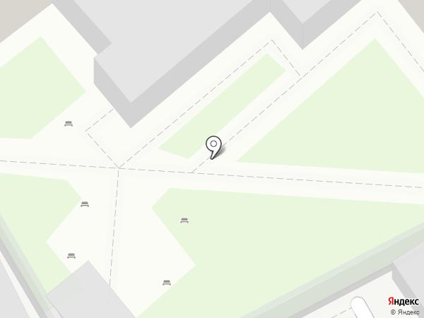 Солнечный на карте Москвы