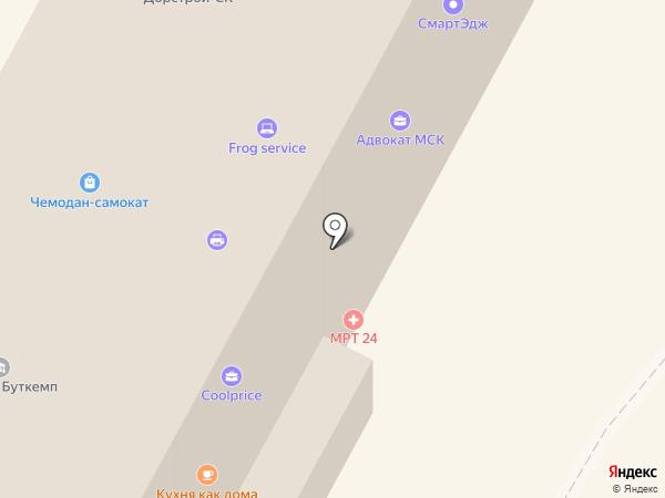 Королева тортов на карте Москвы