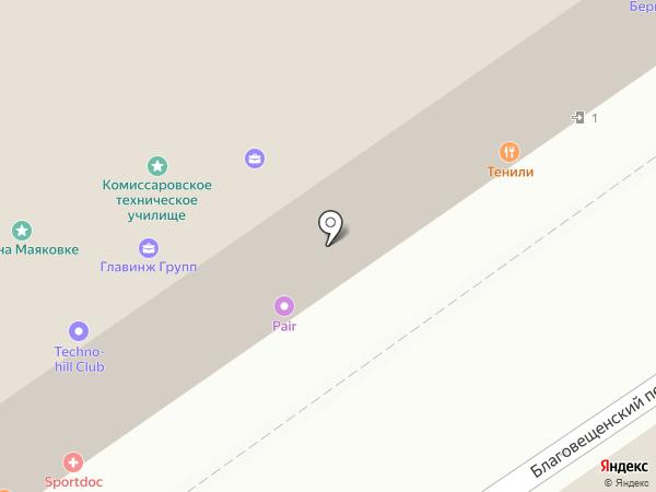 Алстом на карте Москвы
