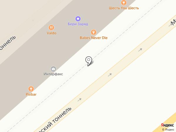 Шикари на карте Москвы