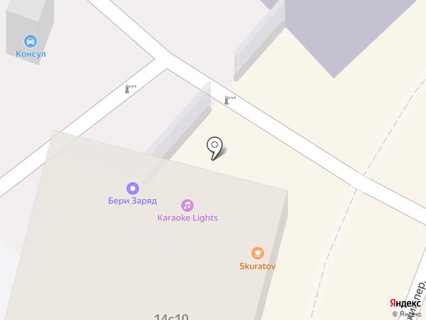 МТ-Бар на карте Москвы