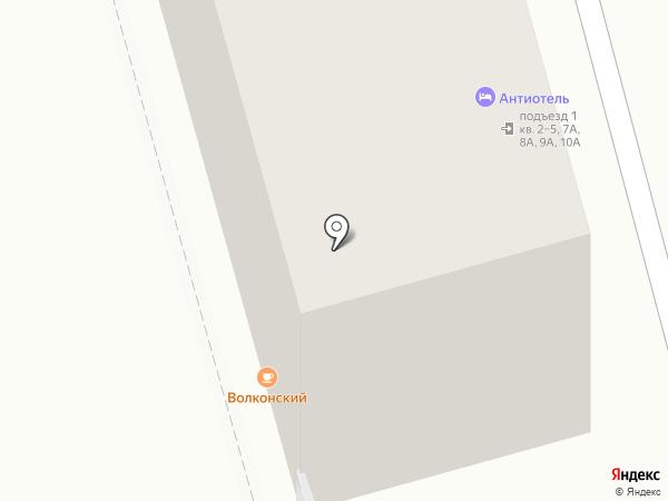 Покладок на карте Москвы