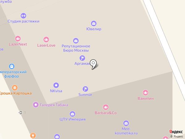 OLDCLEVER на карте Москвы