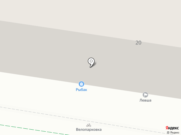 Орион на карте Тулы