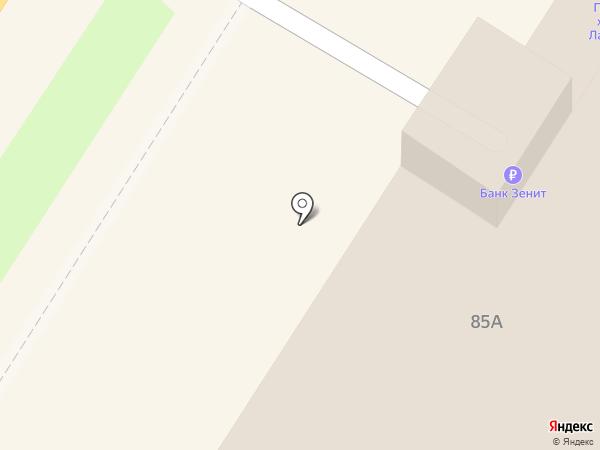 Анкория на карте Тулы