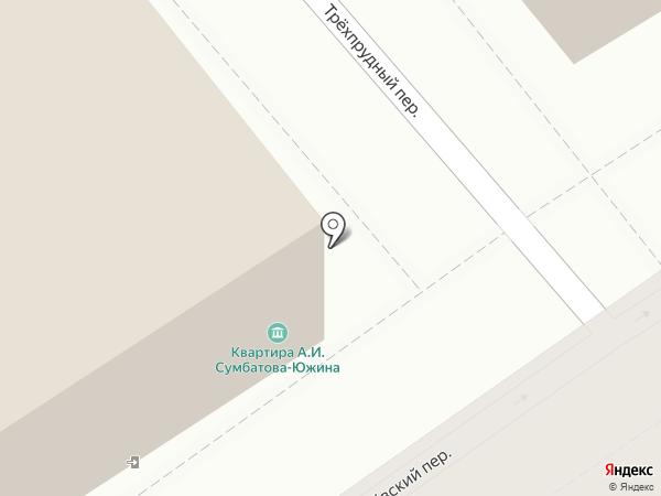 Мемориальный музей-квартира А.И. Сумбатова-Южина на карте Москвы