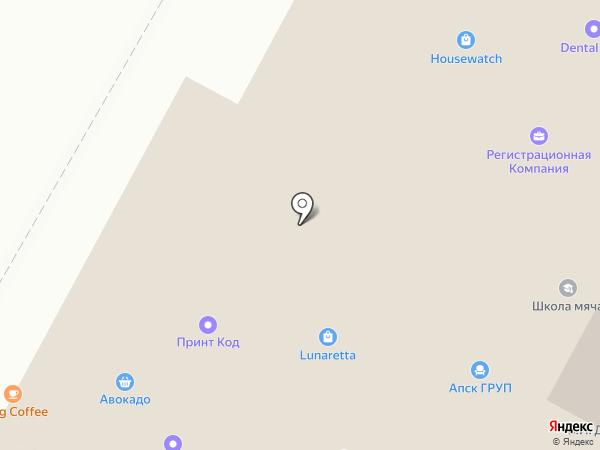 Moscowboxing на карте Москвы