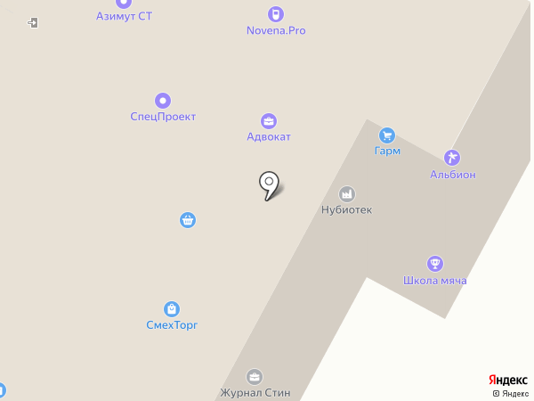 Фосс Металл на карте Москвы