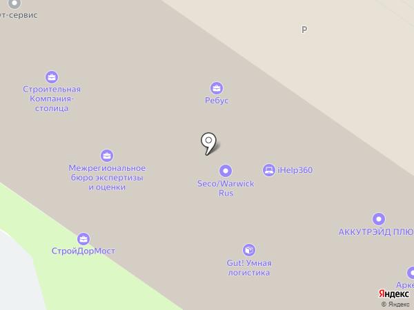 Gembo на карте Москвы