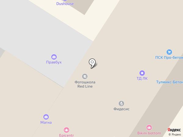 Tardis like на карте Тулы