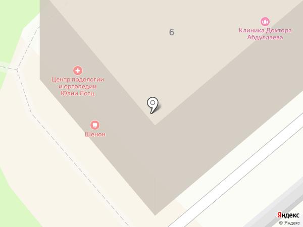 Шенон на карте Москвы