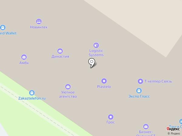 Диана на карте Москвы