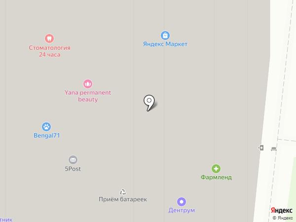 Ваш ломбард на карте Москвы