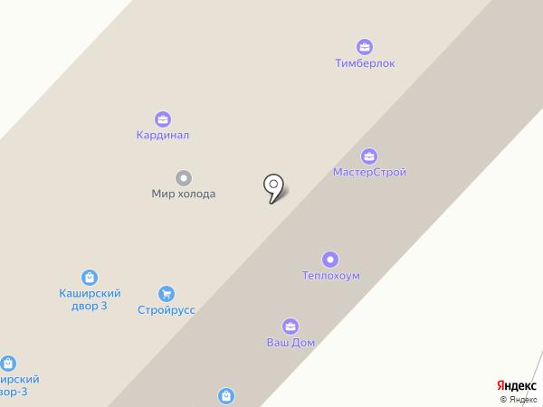 СВ ОКНА на карте Москвы