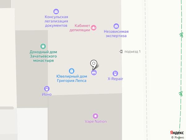 Royal Israel на карте Москвы