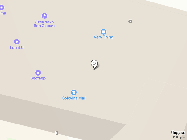 Лэндмарк Вип Сервис на карте Москвы