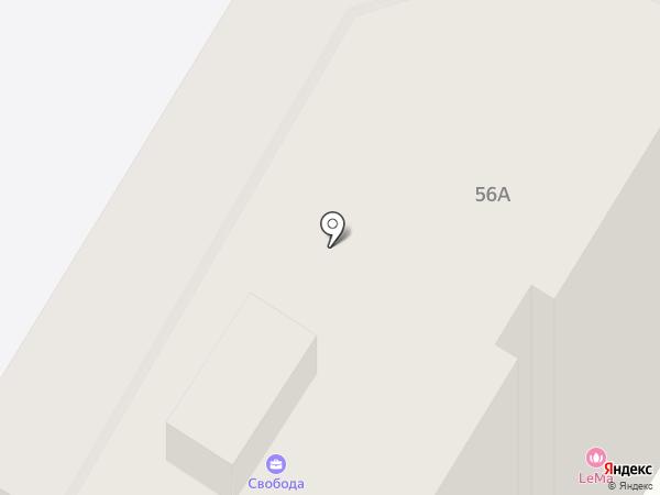 Свобода на карте Тулы