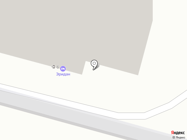 Эридан на карте Москвы