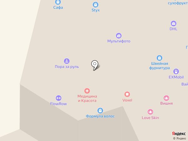 Салюс на карте Москвы