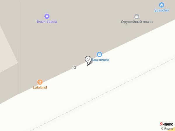 Касабланка-АРТ на карте Москвы