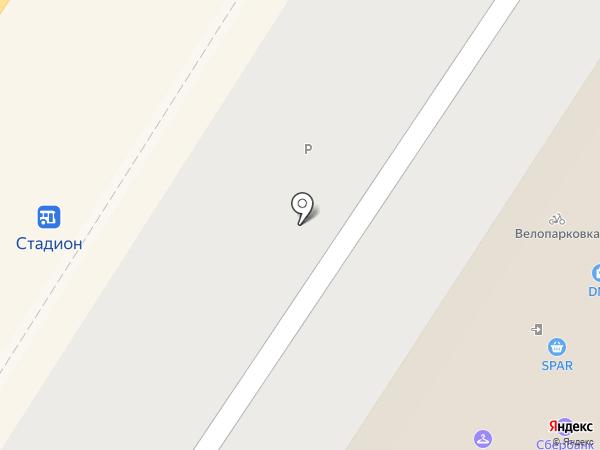 FitCurves на карте Тулы