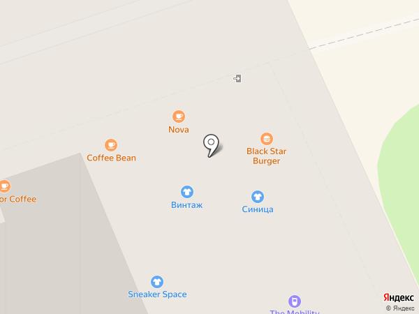 Грезы на карте Москвы