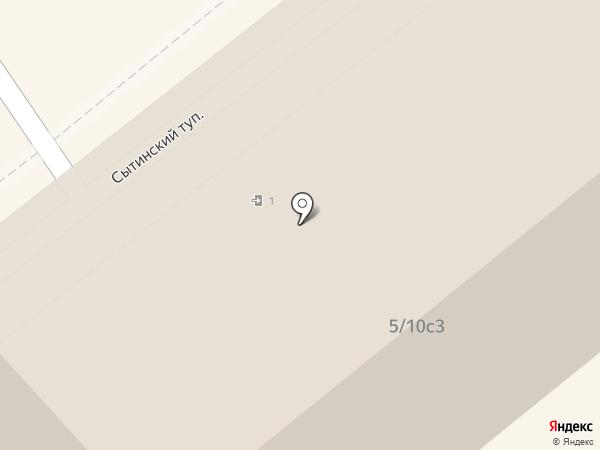 Бьюти Авеню на карте Москвы