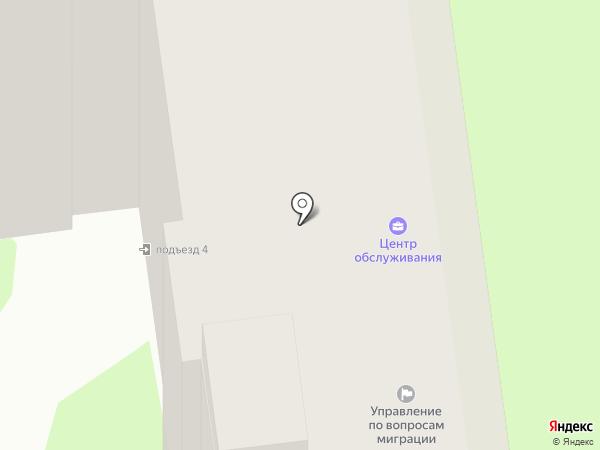 ЦОЮЛ на карте Тулы