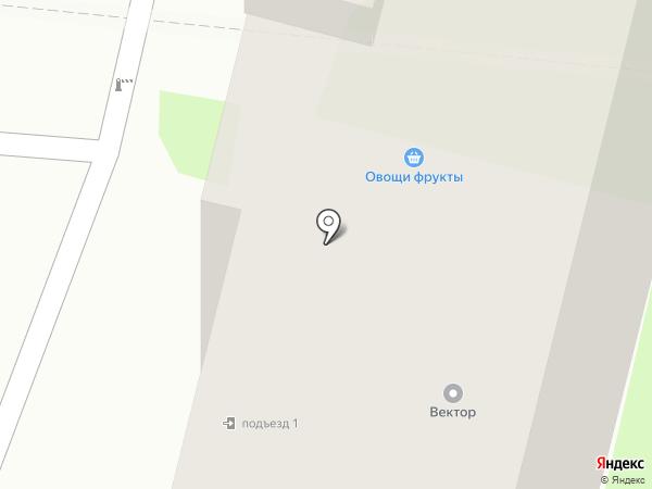 Центр услуг на карте Тулы