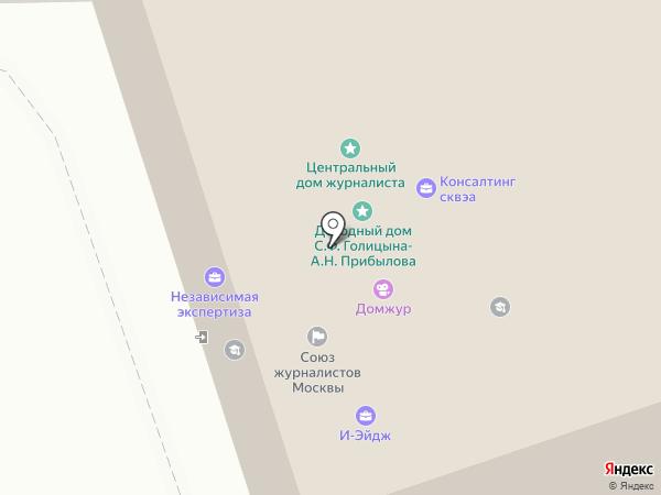 PChelpsService на карте Москвы