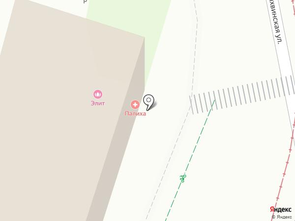 ВИ-Терра на карте Москвы