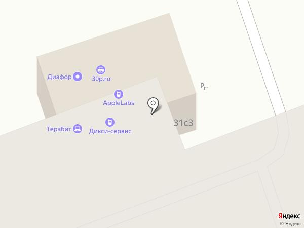 Turlider на карте Москвы