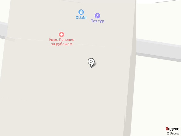 DiJaNi на карте Москвы