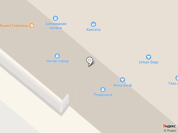 Palmetta на карте Москвы