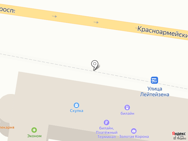 Билайн на карте Тулы