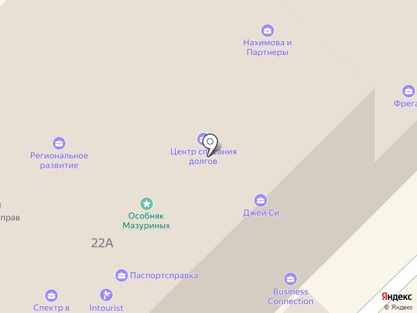 Экономические новости России и Содружества на карте Москвы