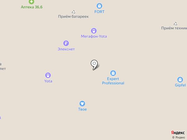Люксоптика на карте Москвы