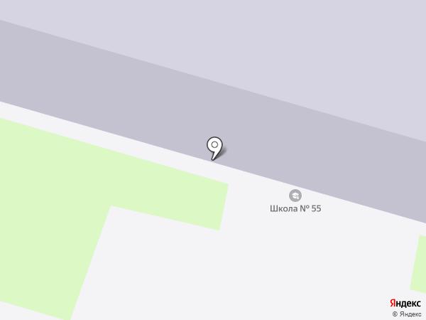 Восток на карте Тулы