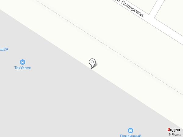 ТЕХУСПЕХ на карте Москвы