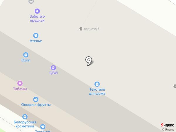 Чулок на карте Тулы