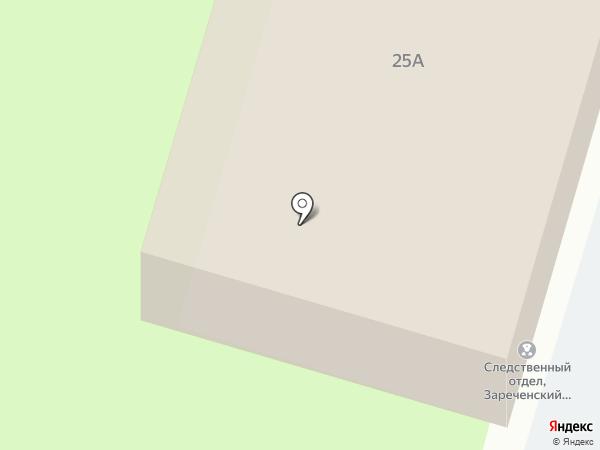 Зареченский межрайонный следственный отдел по г. Тула на карте Тулы