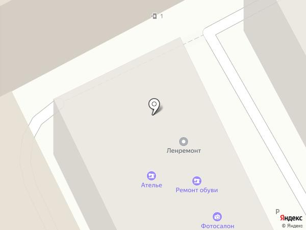 Фотоателье на карте Москвы