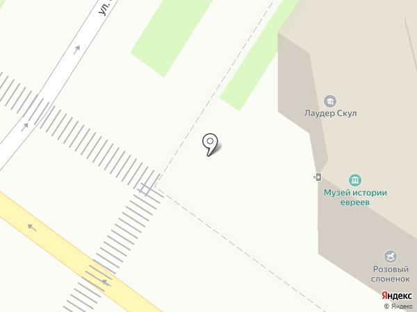 Лаудер Скул на карте Тулы