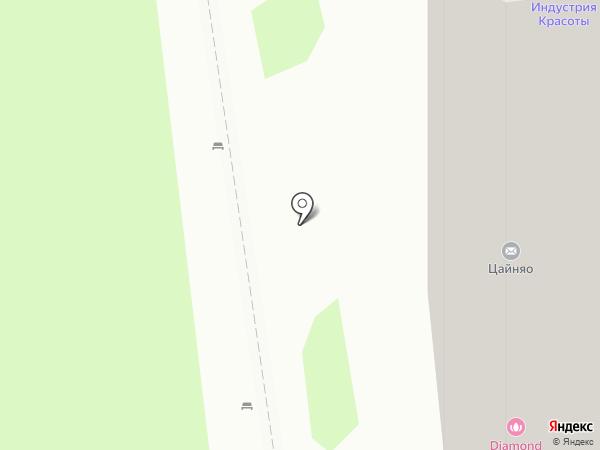 Парикмахерская на карте Тулы