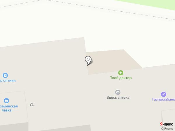 Пешеход на карте Тулы