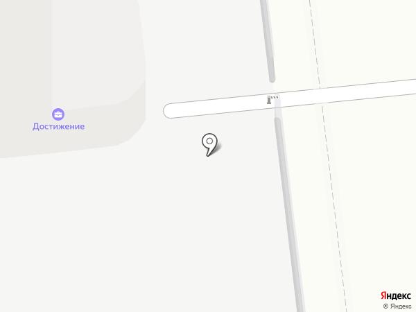 Виртуальная станция на карте Москвы